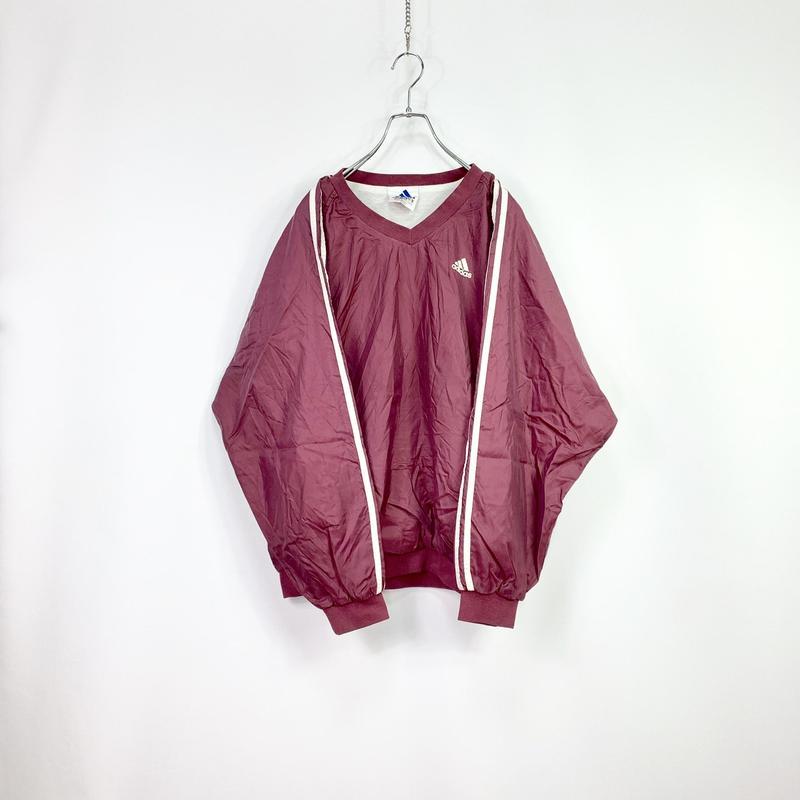 【adidas】90's Nylon pullover jacket