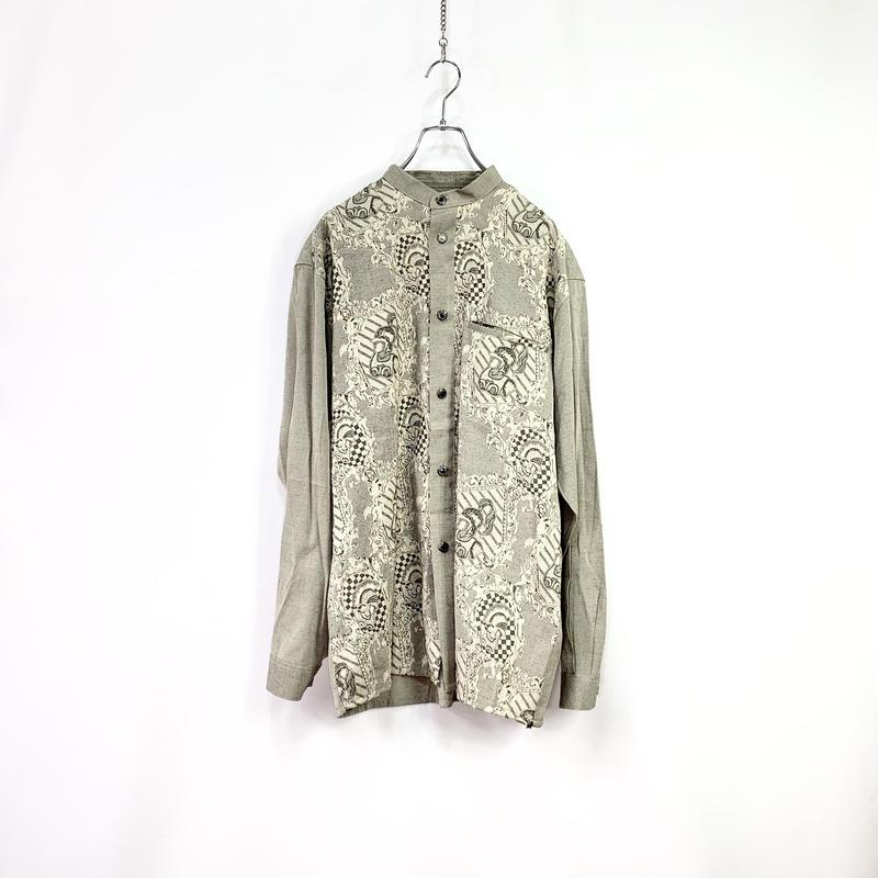 Nocollar design shirt
