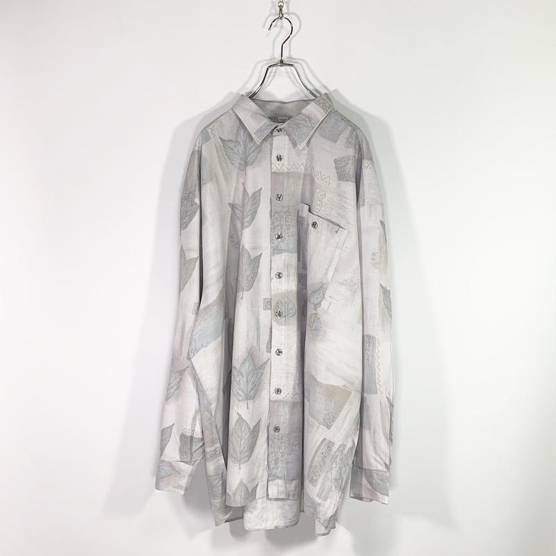 Cloudy pattren shirt