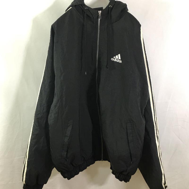 【adidas】Three stripe nylon jacket