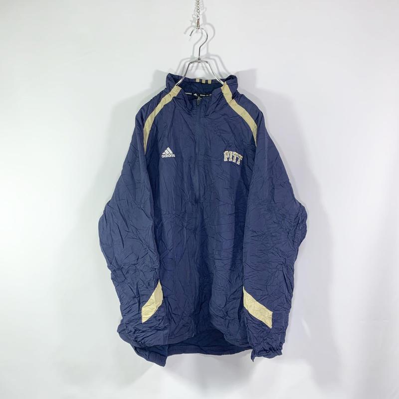 【adidas】Line design nylon jacket