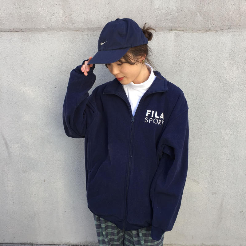 Fila sport navy fleece
