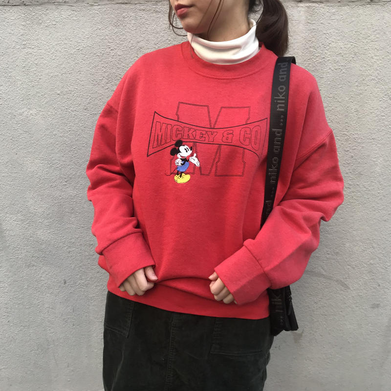 Mickey red sweat