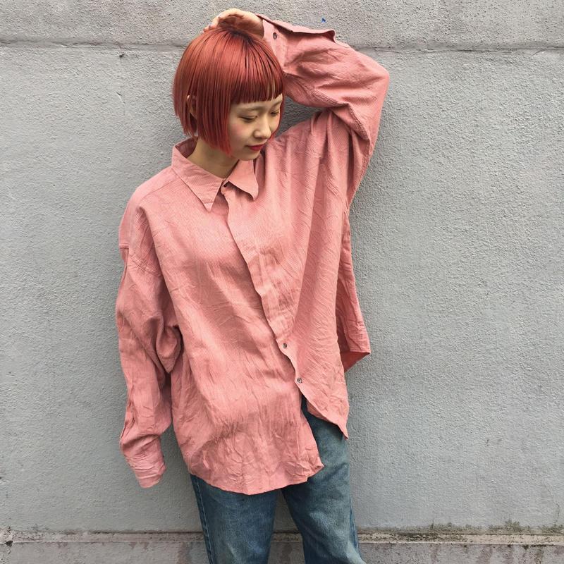 YSL pink strip shirts