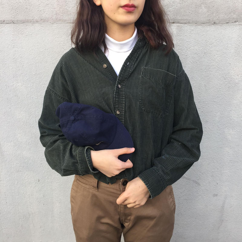 deep green corduroy like shirts