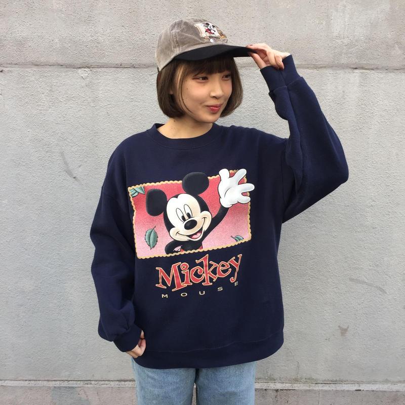 Mickey navy print sweat