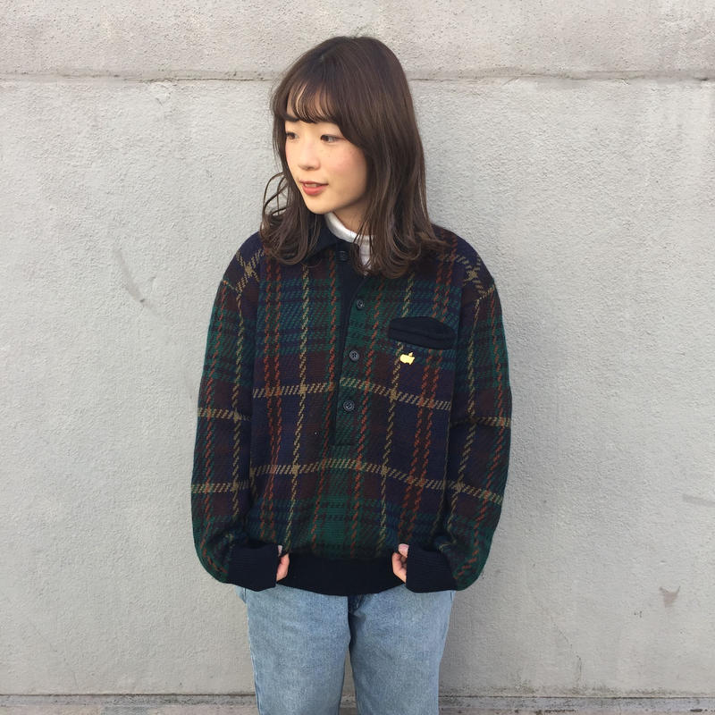 Masiers one point check knit