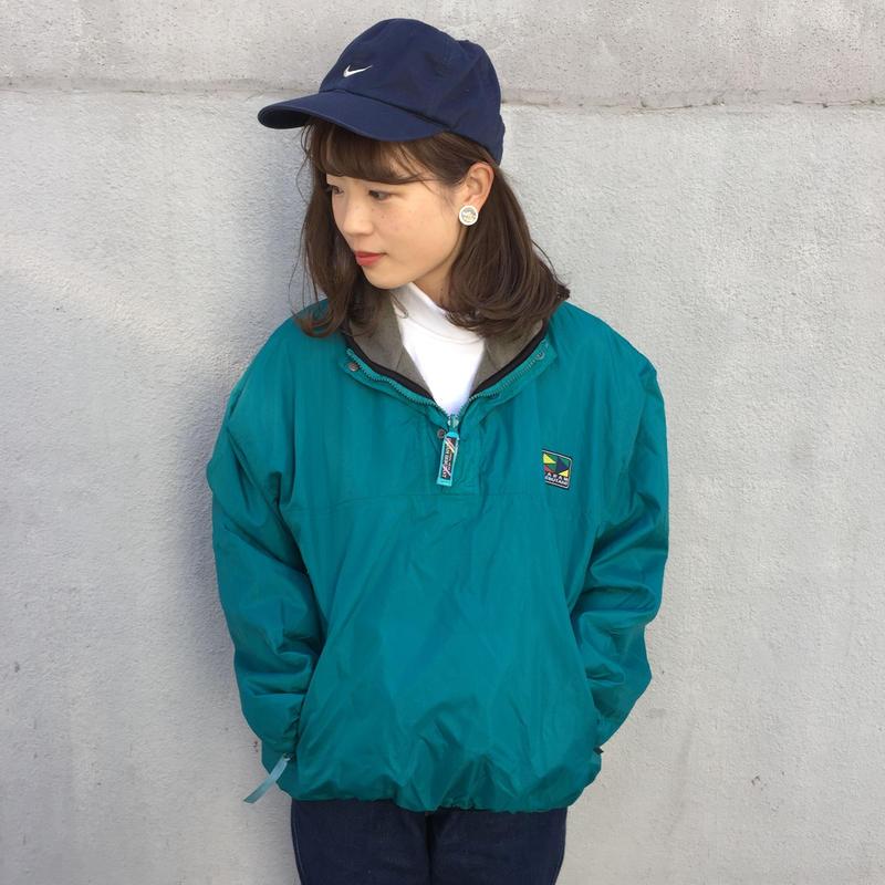 Gram debutant half zip nylon jacket