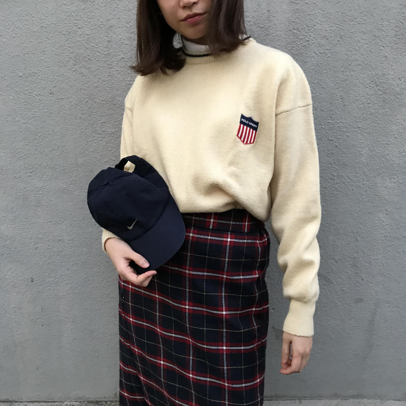 POLO SPORT one point knit