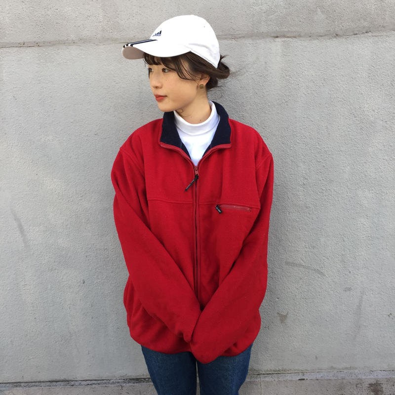 Hill crop red fleece