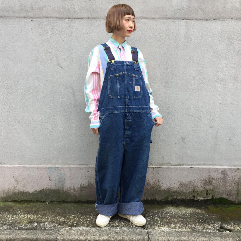 Carhartt big denim overalls