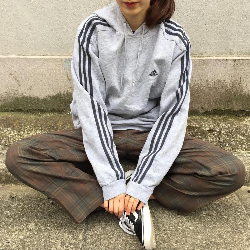 Adidas gray one point parka