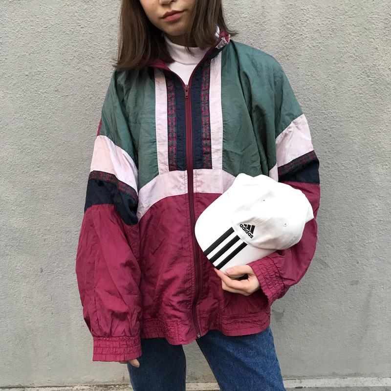 Weekend three color nylon jacket