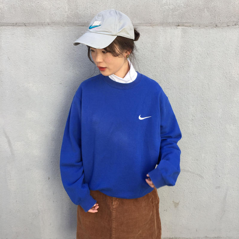 Nike blue one point sweat