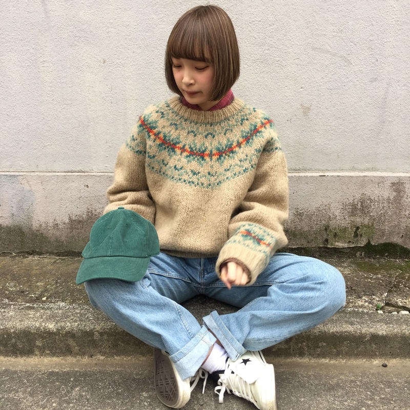 Northern Country beige knit