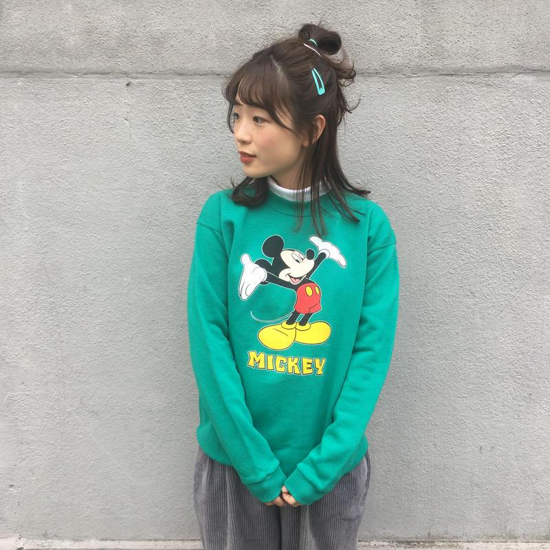 Mickey green sweat