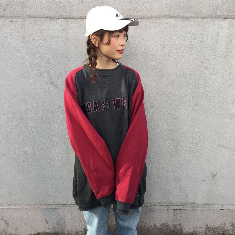 Roca wear gray red sweat