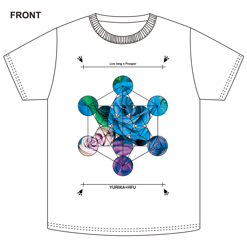 [Tシャツ]HIROSHIMA FUSION UNITE CLAC -YOU×HFU- (WEB限定)
