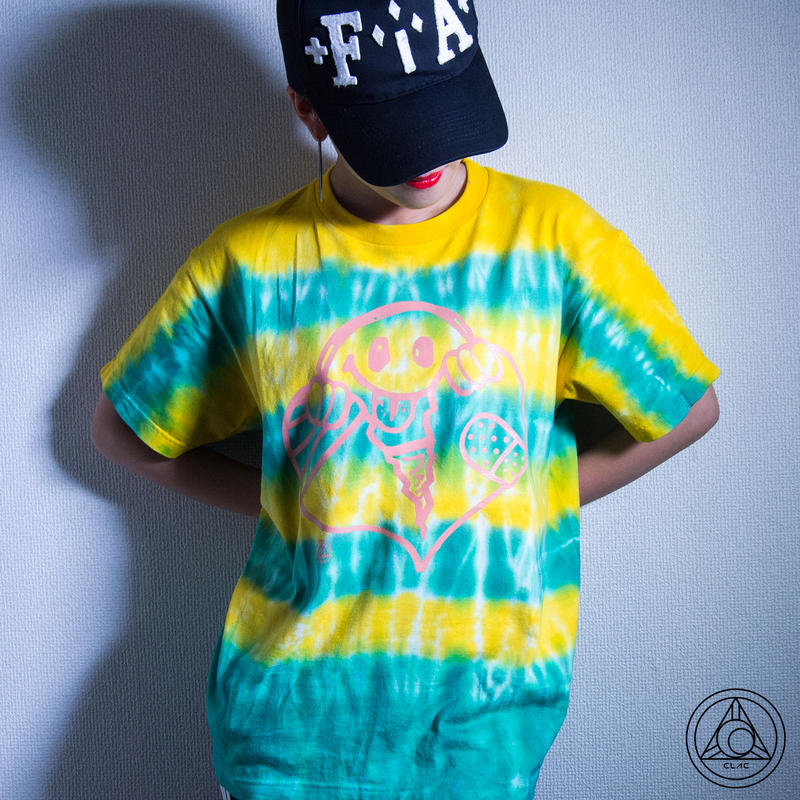 [Tシャツ]CLAC NKKR FCKN -YELLOW x GREEN-