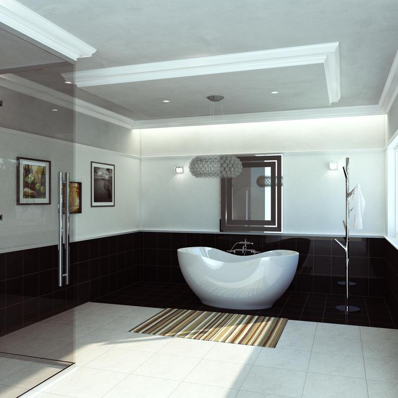 bath room for Sketchup & SUpodium