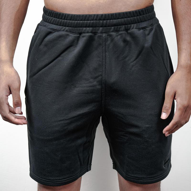 HALF PANTS (BLK-BLK)/ハーフパンツ(ブラック×ブラック)