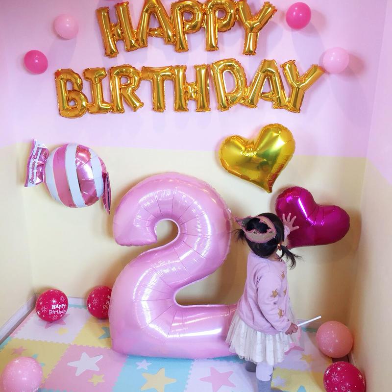 【店頭受け渡し商品】お誕生日パーティーセット(ピンク)