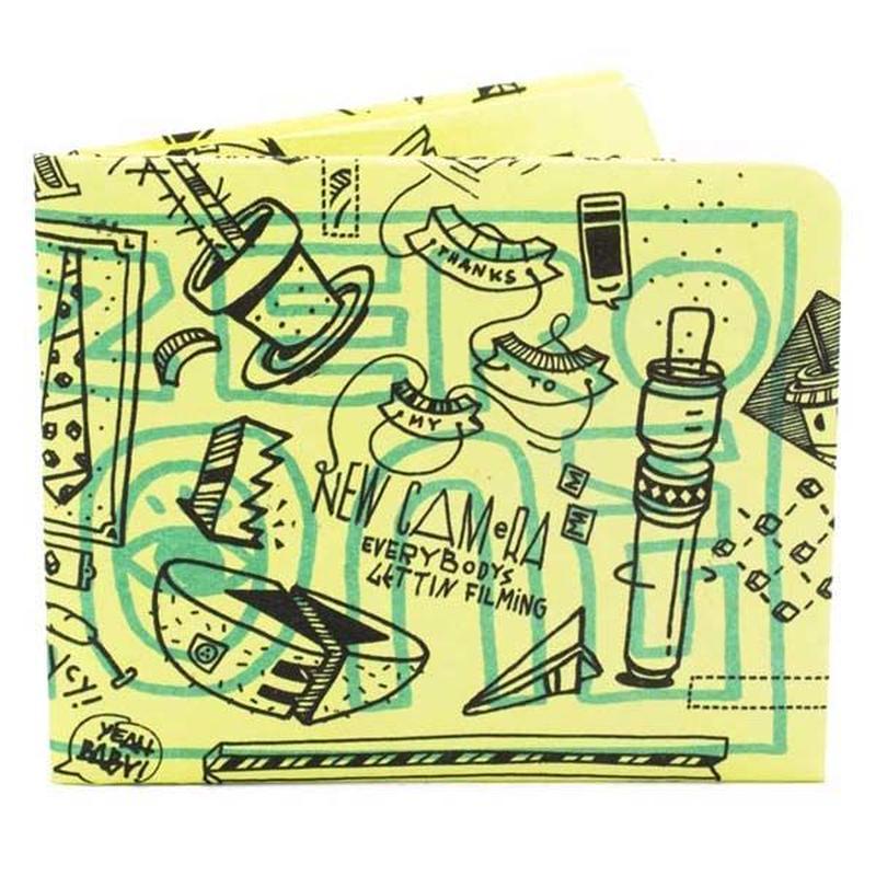 【ART012ELN】paperwallet/ペーパーウォレット-Artist Wallet-ELNA