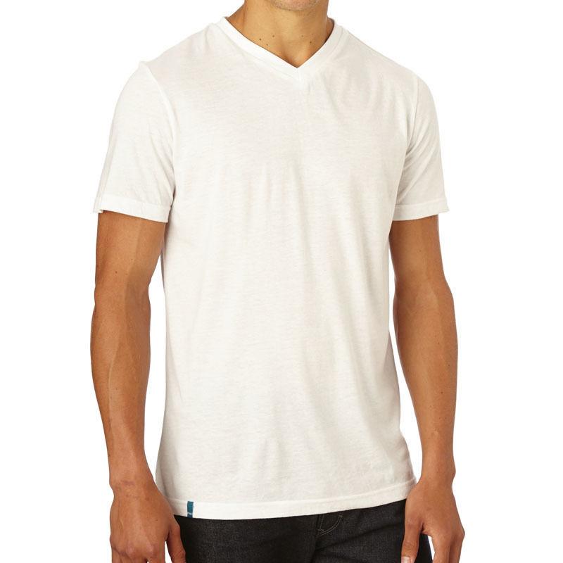 PACT/パクト【ES1-MSV-WHT】メンズ Tシャツ MEN'S EVERYDAY V-NECK T-SHIRTS WHITE 白 VネックTシャツ