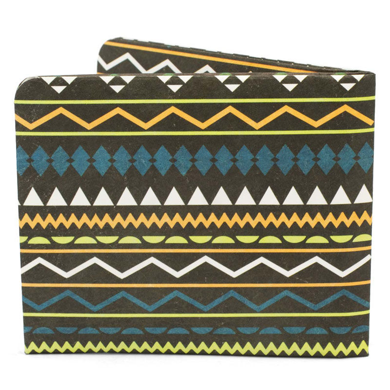 【SOL016AZT】paperwallet/ペーパーウォレット-Pattern Wallet-AZTEC タイベック素材 紙の財布