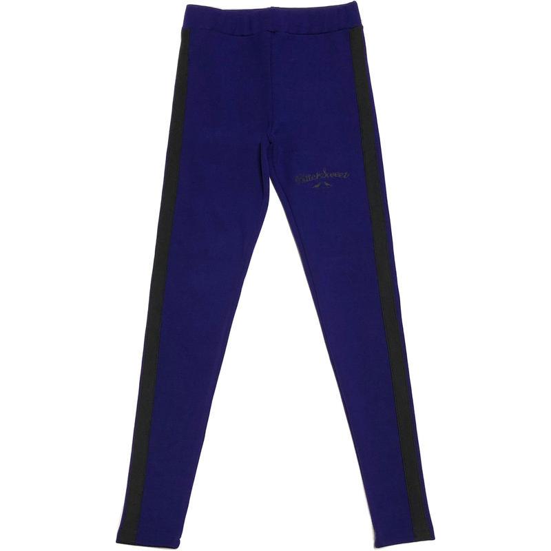 SIDE LINE FULL LEGGINGS ナイトブルー/ブラック