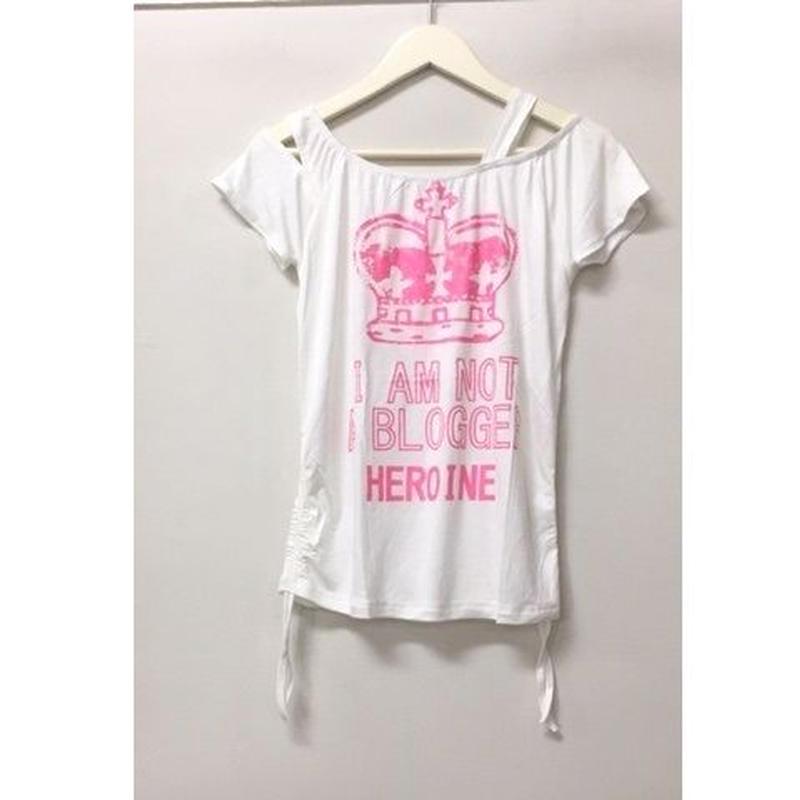 (HEROINE)  ワンショルフレンチ オフホワイト