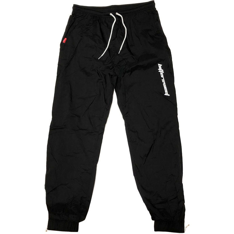 MENS NYLON TRACK PANTS ブラック