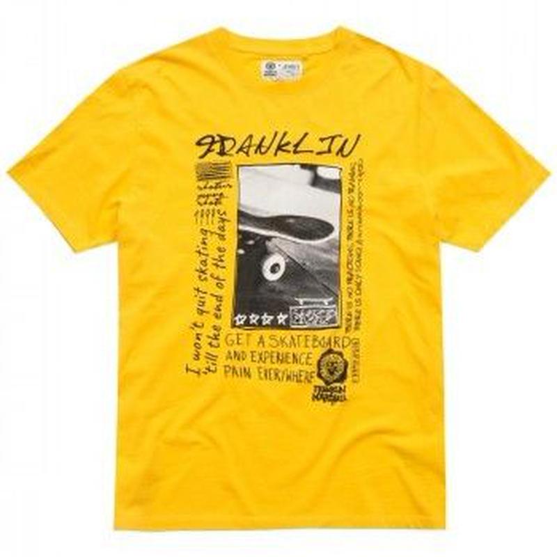 (FRANKLIN&MARSHALL)  Tシャツ レモンクロム