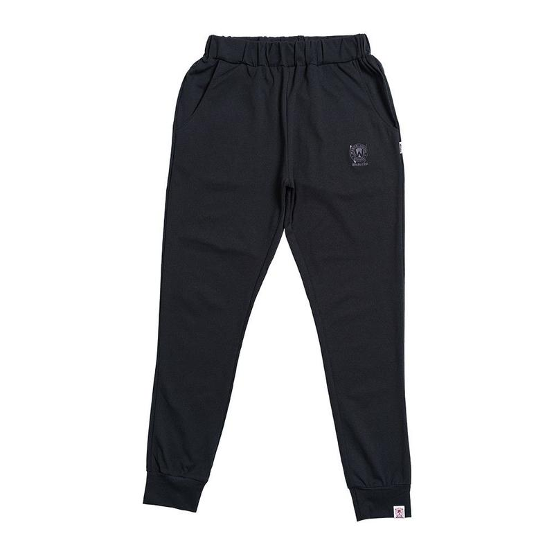 (Wstudio)  FIT TAPERED Pants  ブラック