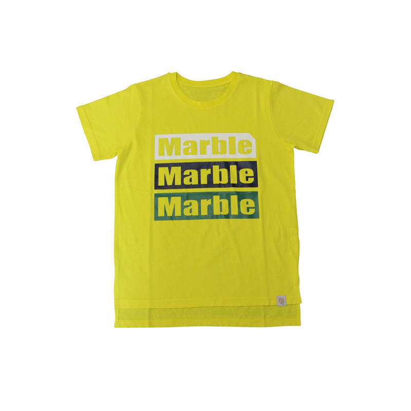 (Marble)  Tシャツ イエロー