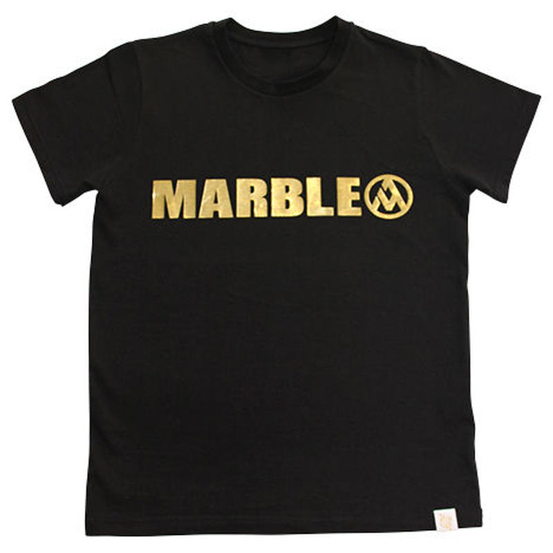(Marble)  Tシャツ ブラック