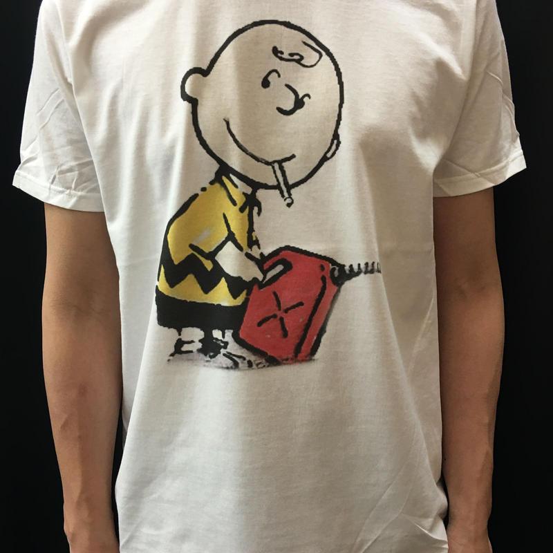 BANKSY  バンクシー Charlie BrownTシャツ
