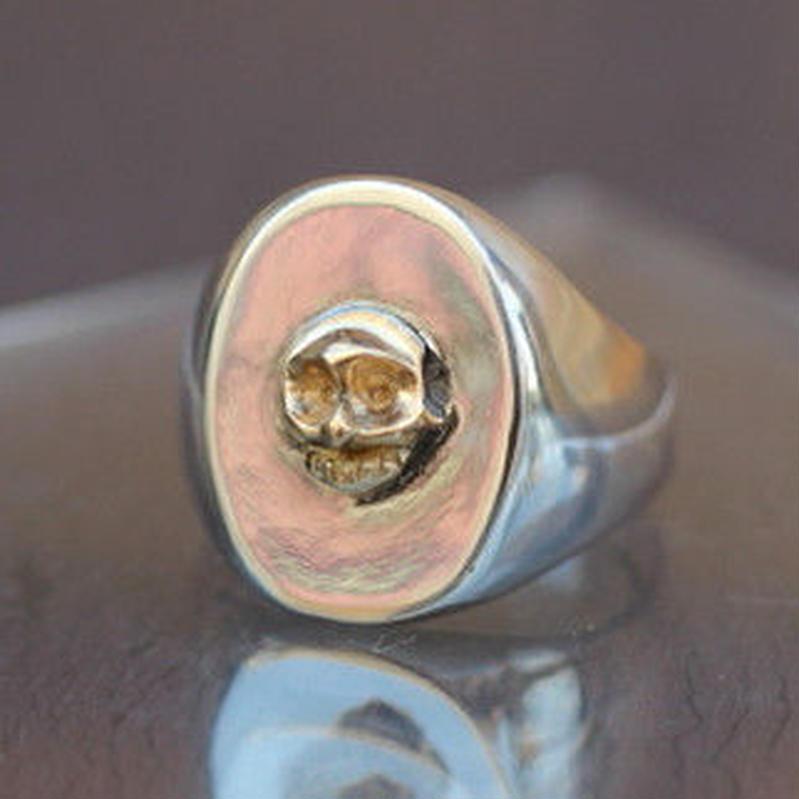 One Skull Ring