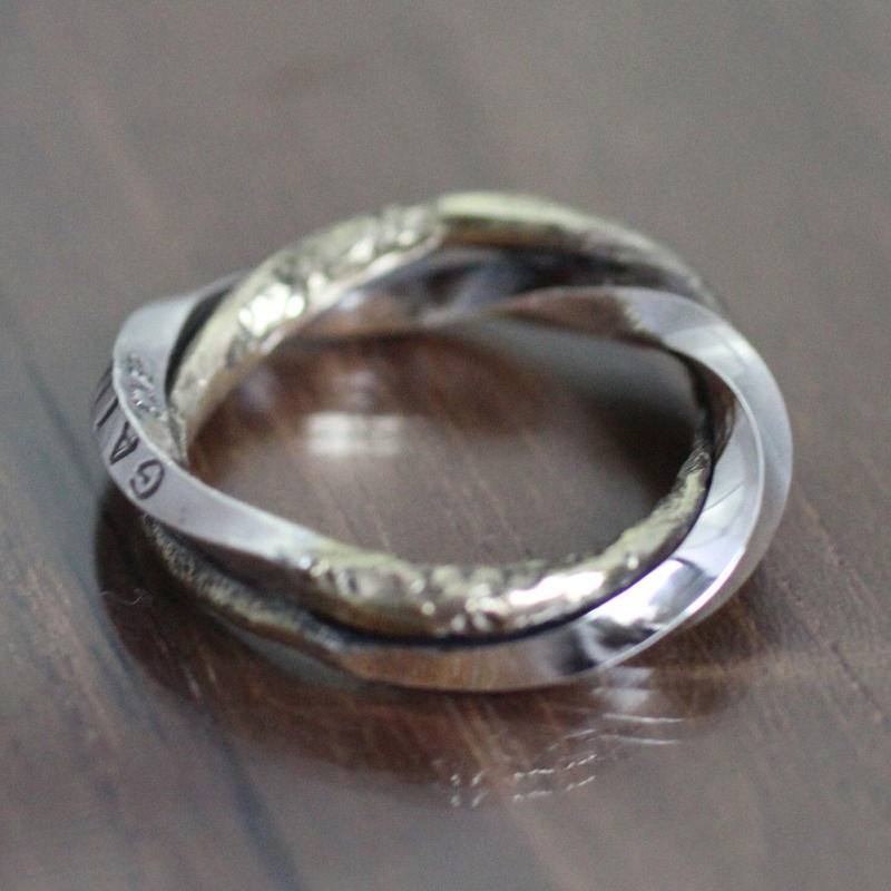 meld Ring(SV×BRASS)