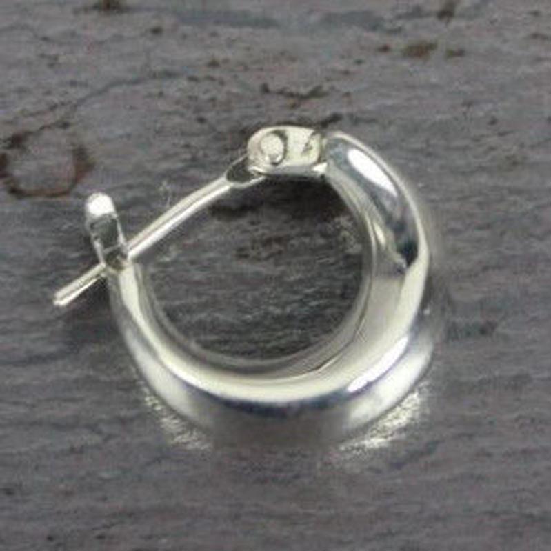 Crescent Pierce(silver) 1P