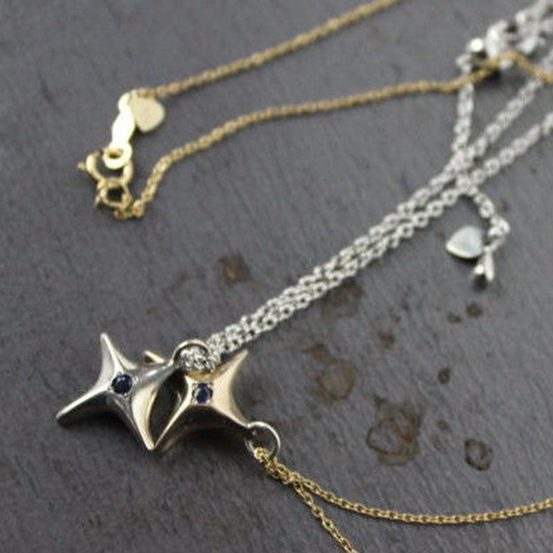 shootingstar Necklace#silver (チェーンセット)