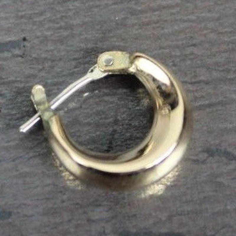 Crescent Pierce(Gold) 1P