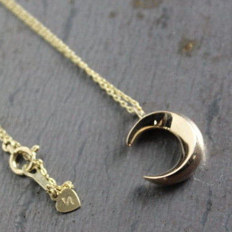 Crescent Necklace#GOLD(TOP単体)