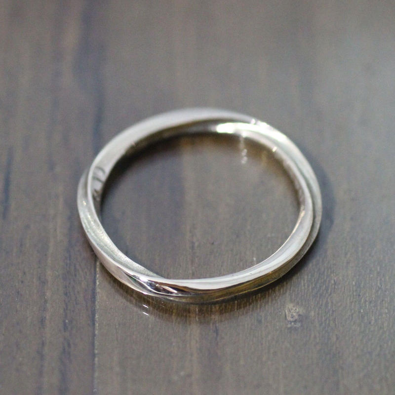 fluent ring(K10 Yellow gold)