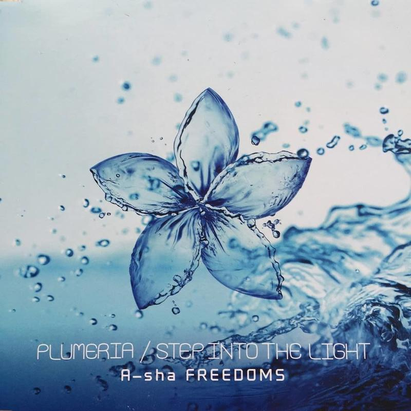 アルバム Plumeria / Step into the light  全2曲 A-sha Freedoms - WAV