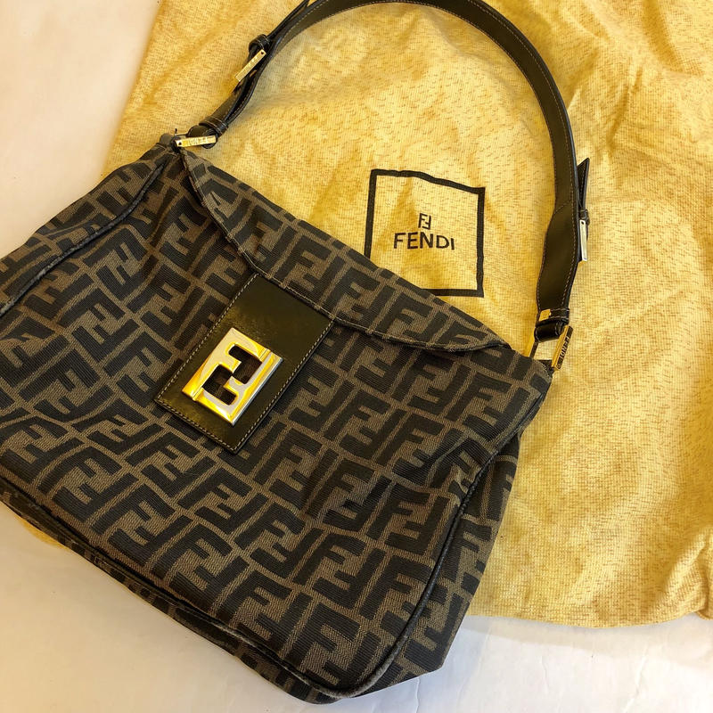 【Vintage FENDI】ZUCCA SHOULDER BAG