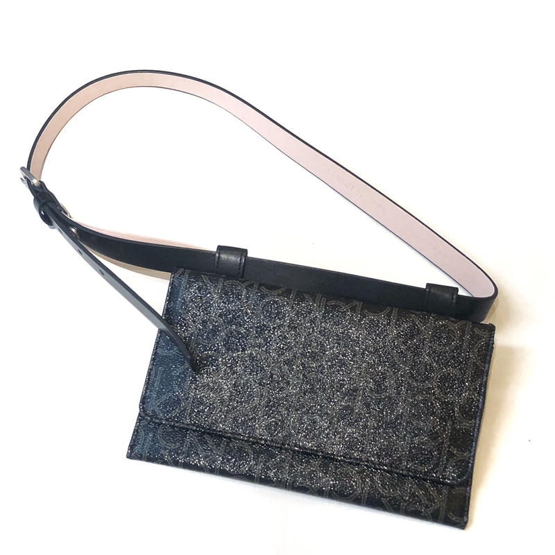 【Calvin Klein】 WAIST BAG black