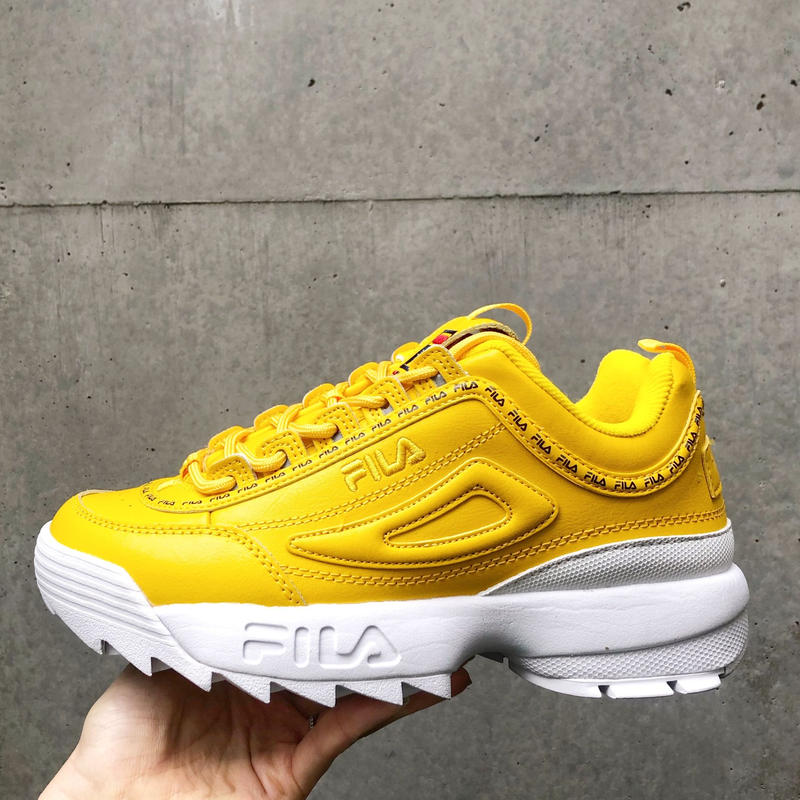 【FILA】DISRUPTOR Ⅱ REPEAT - YELLOW