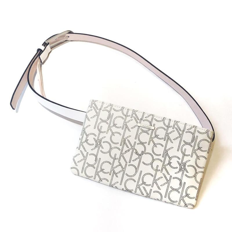 【Calvin Klein】WAIST BAG white