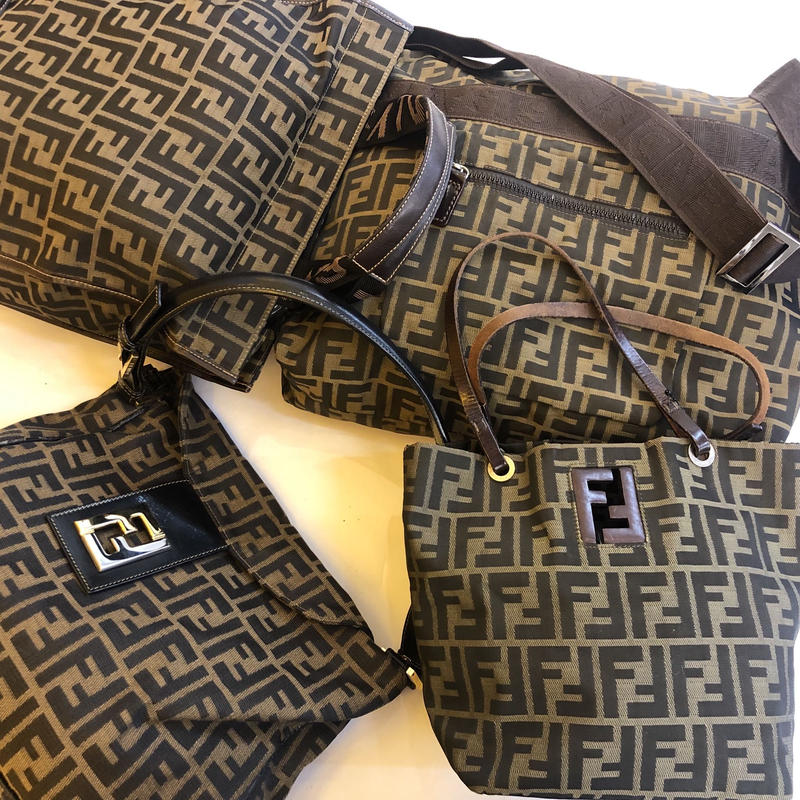 【Vintage FENDI】ZUCCA MINI TOTE BAG